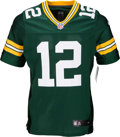 Football Collectibles:Uniforms, 2000's Aaron Rodgers Signed Green Bay Packers Jersey....