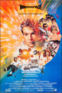 """Innerspace (Warner Brothers, 1987). International One Sheet & One Sheet (2) (27"""" X 41"""") Advance. Action..."""