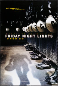 """Friday Night Lights & Other Lot (Universal, 2004). Rolled, Very Fine. One Sheets (3) (27"""" X 40"""" & 27&q..."""