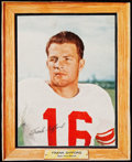 Football Cards:Singles (1960-1969), Scarce 1960 Post Cereal Frank Gifford. ...