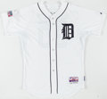 Baseball Collectibles:Uniforms, 2014 Eugenio Suarez Game Issued Detroit Tigers PostseasonJersey....