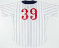 Baseball Collectibles:Uniforms, 1996 Kimera Bartee Game Worn & Signed Detroit Tigers ThrowbackJersey With Team Letter....