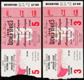 Baseball Collectibles:Tickets, 1959 World Series Game 3 and Game 5 Ticket Stubs Lot of 2.. ...