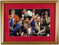 Autographs:Photos, Manny Pacquiao Signed Framed Photo Display.. ...