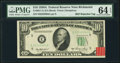 Error Notes:Miscellaneous Errors, Fr. 2011-E $10 1950A Federal Reserve Note. PMG Choice Uncirculated 64 EPQ.. ...