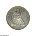 Proof Seated Half Dollars: , 1849 50C PR64 PCGS. Wiley and Bugert, in their 1993 reference The Complete Guide to Liberty Seated Half Dollars, indica...