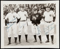 Autographs:Photos, New York Yankees Signed Type 1 Photograph - Schulte, Combs,McCarthy and Fletcher. . ...