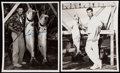 Autographs:Photos, Ted Williams Signed Type 1 Photographs Lot of 2.. ...