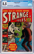 Golden Age (1938-1955):Horror, Strange Tales #13 (Atlas, 1952) CGC FN- 5.5 Off-white pages....