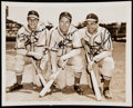 Autographs:Photos, Stan Musial, Enos Slaughter and Terry Moore Multi-Signed Type 1Photograph.. ...