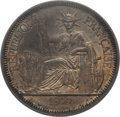 French Indochina, French Indochina: French Colony Piastre 1899-A MS63 PCGS,...