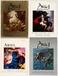 Memorabilia:Books, Ariel: The Book of Fantasy Volumes 1-4 (Ballantine Books, 1970s)Condition: Average FN.... (Total: 4 Items)