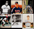 Baseball Collectibles:Photos, Baseball Hall of Famers & Greats Signed Photograph Collection (8) - Includes Herman, Seaver, Ryan. . ...