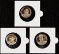 Baseball Cards:Singles (Pre-1930), 1910 P2 Sweet Caporal Pins Lot of 3 - Mathewson, McGraw andSpeaker. . ...