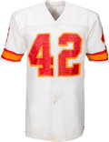 Football Collectibles:Uniforms, 1981 Ricky Bell Game Worn Tampa Bay Buccaneers Jersey (With Team Repair). ...