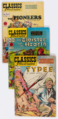 Golden Age (1938-1955):Classics Illustrated, Classics Illustrated - First Editions Group of 29 (Gilberton,1947-54) Condition: Average GD/VG.... (Total: 29 Comic Books)
