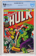 Bronze Age (1970-1979):Superhero, The Incredible Hulk #181 (Marvel, 1974) CBCS NM+ 9.6 White pages....