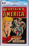 Golden Age (1938-1955):Superhero, Captain America Comics #64 (Timely, 1947) CGC VG+ 4.5 Cream to off-white pages....