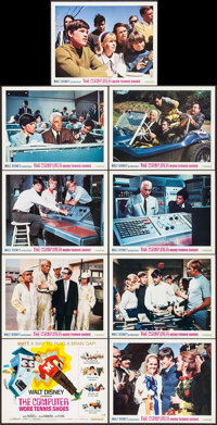 """The Computer Wore Tennis Shoes (Buena Vista, R-1970). Lobby Card Set of 9 (11"""" X 14""""). Family. ... (Total: 9 I..."""