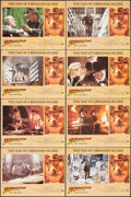 "Movie Posters:Action, Indiana Jones and the Last Crusade (Paramount, 1989). Lobby CardSet of 8 (11"" X 14""). Action.. ... (Total: 8 Items)"