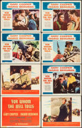 """Movie Posters:War, For Whom the Bell Tolls (Paramount, 1943/R-1957). Title Lobby Card& Lobby Cards (7) (11"""" X 14""""). War.. ... (Total: 8 Items)"""