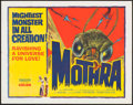 """Movie Posters:Science Fiction, Mothra (Columbia, 1962). Half Sheet (22"""" X 28""""). Science Fiction....."""