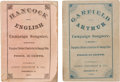 Political:Small Paper (pre-1896), Garfield & Arthur and Hancock & English: Matched Pair ofScarce 1880 Songbooks. ... (Total: 2 Items)