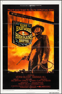 "High Plains Drifter (Universal, 1973). One Sheet (27"" X 41""). Western"