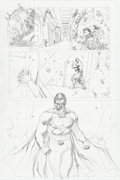 Original Comic Art:Panel Pages, Gary Frank and Jon Sibal Superman: New Krypton Special #1Story Page 1 Pencils and Inks Orig...