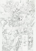 Original Comic Art:Panel Pages, Leinil Francis Yu and Mark Morales Secret Invasion #7 Page 7Original Art Group of 2 (Marvel, 2008).... (Total: 2 Original Art)