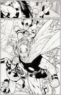 Original Comic Art:Panel Pages, Steve McNiven and Tim Townsend Civil War #7 Page 11 OriginalArt (Marvel, 2007)....