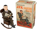 Political:3D & Other Display (1896-present), John F. Kennedy: Presidential Rocking Chair Novelty Toy in OriginalBox. ...