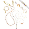 Estate Jewelry:Lots, Multi-Stone, Gold Jewelry. ... (Total: 17 Items)