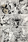 Original Comic Art:Panel Pages, Neal Adams and Tom Palmer Avengers #93 Story Page 24Original Art (Marvel, 1971)....