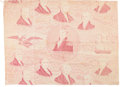 """Political:Textile Display (pre-1896), Andrew Jackson: Presidential Repeating Pattern Chintz Cotton""""Repeat""""...."""