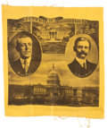Political:Textile Display (1896-present), Wilson & Marshall: Graphic Jugate Pillow Sham or Table Cover....