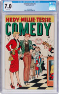 Golden Age (1938-1955):Humor, Comedy Comics #5 (Timely, 1949) CGC FN/VF 7.0 Off-white pages....