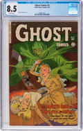 Golden Age (1938-1955):Horror, Ghost #3 (Fiction House, 1952) CGC VF+ 8.5 Off-white pages....