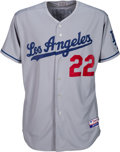 Baseball Collectibles:Uniforms, 2009 Clayton Kershaw Game Worn & Signed Los Angeles Dodgers Jersey. . ...