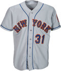 Baseball Collectibles:Uniforms, 1998 Mike Piazza Game Worn New York Mets Jersey. . ...