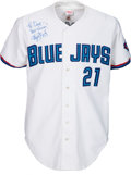 Baseball Collectibles:Uniforms, 1997 Roger Clemens Game Worn Signed Toronto Blue Jays Jersey - Cy Young Winning Season. . ...
