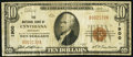 National Bank Notes:Kentucky, Cynthiana, KY - $10 1929 Ty. 1 The NB of Cynthiana Ch. # 1900. ...