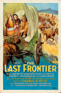 "Movie Posters:Western, The Last Frontier (Producers Distributing Corp., 1926). One Sheet(26.5"" X 40.5"") Style B.. ..."