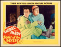 "Movie Posters:Comedy, Sons of the Desert (MGM, 1933). Lobby Card (10.87"" X 14"").. ..."