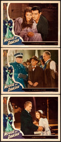 """Movie Posters:Horror, House of Dracula (Universal, 1945). Autographed Lobby Card & Lobby Cards (2) (11"""" X 14"""").. ... (Total: 3 Items)"""