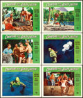 """Movie Posters:Horror, Creature from the Black Lagoon (Universal International, 1954). Lobby Cards (6) (11"""" X 14"""").. ... (Total: 6 Items)"""