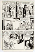 Curt Swan and Frank Chiaramonte Action Comics #515 Page 4 Original Art (DC, 1981 Comic Art