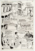 Curt Swan and Sal Amendola Superman Movie Special #1 (Superman III) Story Page 3 Comic Art