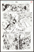 Dave Ross and Tim Dzon Avengers West Coast #92 Story Page 21 Original Art (Marve Comic Art