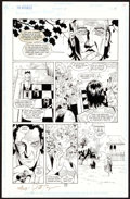 Jill Thompson and Dennis Cramer The Invisibles #8 Story Page 19 Original Art (DC Comic Art